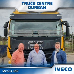 allied transport Handover-Iveco-Stralis-22-10-2019